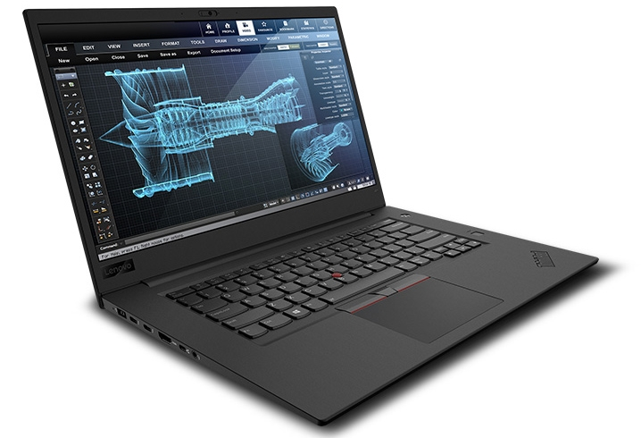 sm.05 Thinkpad P1 Hero facing right Engineering screen 31 08 18